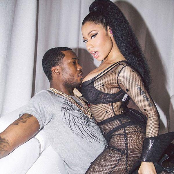 Nicki Minaj Mounts Rapper Meek Mill