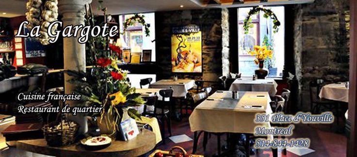 Restaurant Bistro La Gargote Montreal