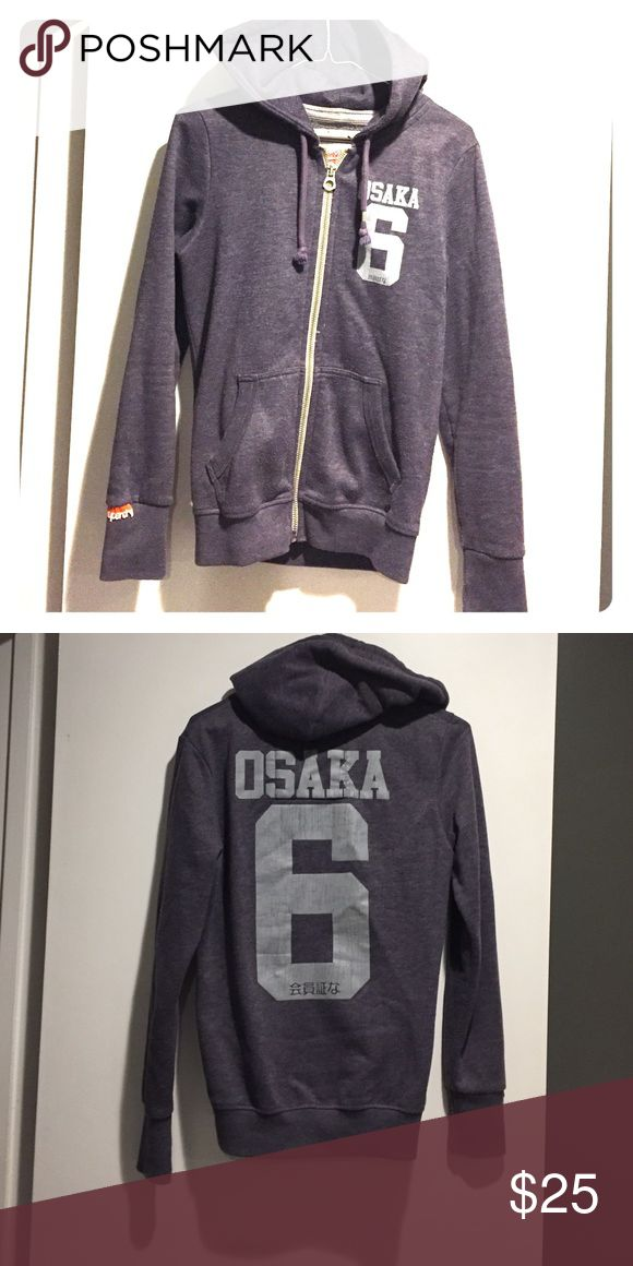 SuperDry Osaka Zip-Up SuperDry Osaka Zip-Up hoodie Superdry Tops Sweatshirts & Hoodies