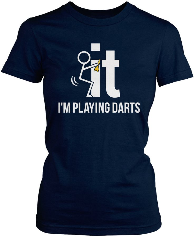 F-It I'm Playing Darts Just want drop everything and play darts? This is the t-shirt for you. Order yours today! Premium, Women's Fit & Long Sleeve T-Shirts Made from 100% pre-shrunk cotton jersey. Pu