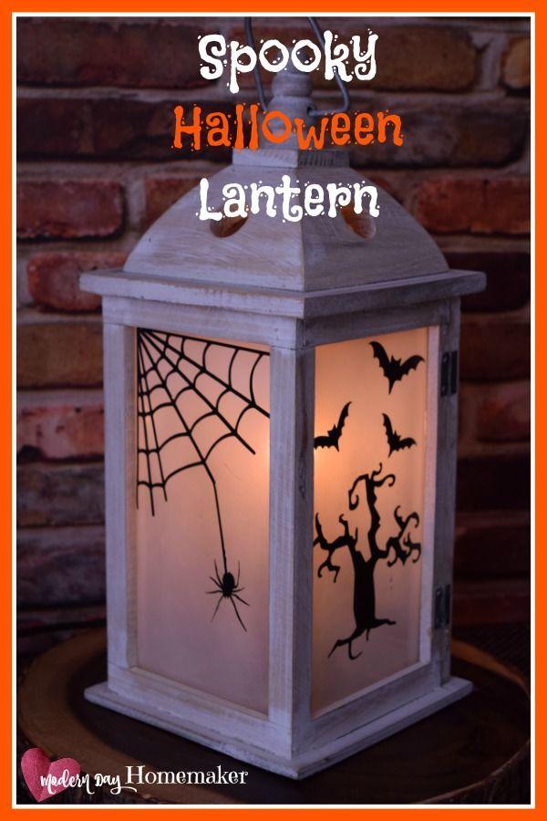 Spooky Halloween Lantern Craft Halloween Pinterest Halloween