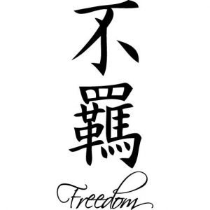 141 best chineese symbols images on pinterest chinese for Tattoos meaning freedom