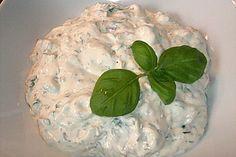 Fondue-Saucen - Joghurt Creme Fraiche Dip