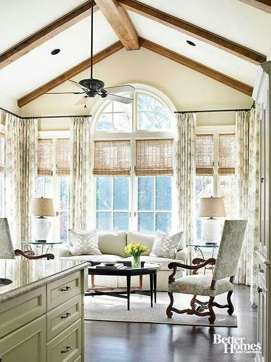 Best 25 sunroom window treatments ideas on pinterest for Window covering ideas for sunrooms