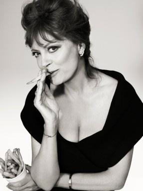 Susan Sarandon...but like....she's smoking a french fry. I can't <3