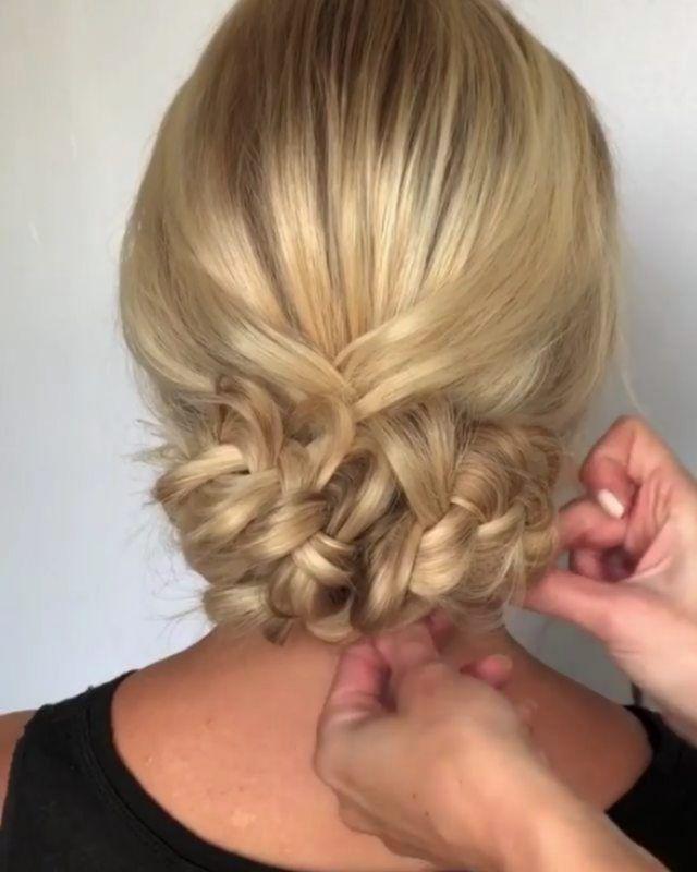 1 or 2??? 😍😍😍 Credit @annette_updo_artist  #tutorialvideos #hairbrained #naturalhairtutorial #videotutorial #Braids #cornrows #bunch…