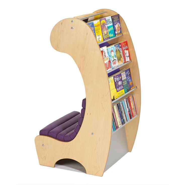 Children's library furniture - book display furniture for children