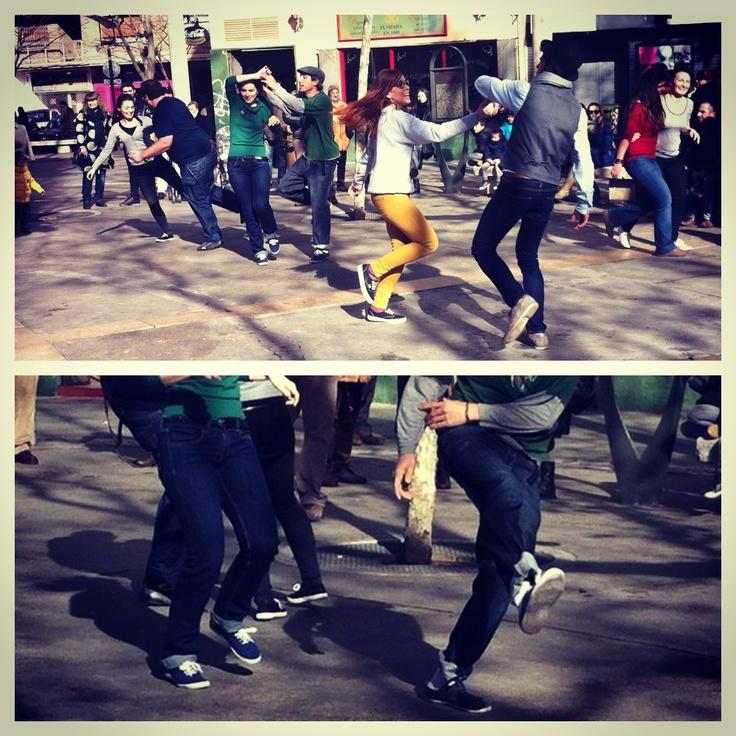 Street photo Zaragoza - Lindy Hop #street #lindyhop #swingzaragoza