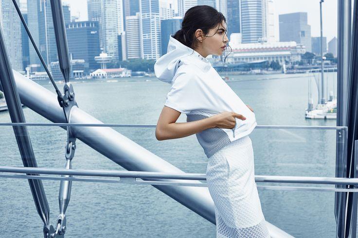 #ranitasobanska #fashiondesigner #AW15 #Singapore