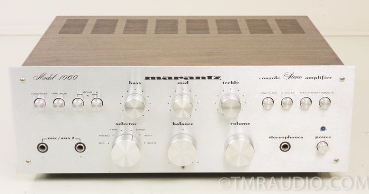Marantz Model 1060 Vintage Stereo Integrated Amplifier AS-IS | The Music Room