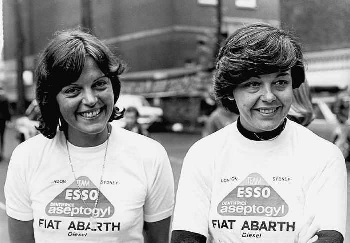Christine Dacremont/Yveline Vanoni - 1977 London-Sydney Rally