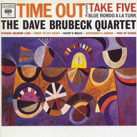 """From NPR.org:  une 12, 2009 - In 1959, jazz pianist Dave Brubeck topped the pop charts and shook up the notion of rhythm in jazz with an odd-metered song called """"Take Five.""""    Only trained musicians might understand exactly what gave the Paul Desmond-penned song its flow. It was all in the time signature: five beats to the measure, a departure from more traditional four-four time in jazz. It was cutting-edge and cool — a song millions would scoop up and savor."""