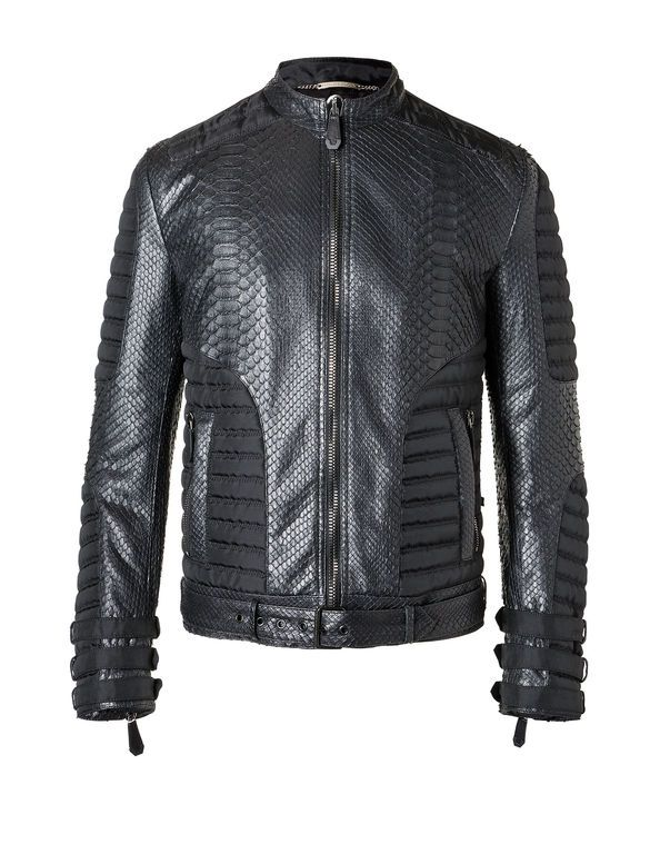 "PHILIPP PLEIN Leather Jacket ""Smash"""