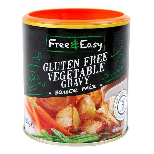 Free & Easy Gluten Free Vegetable Gravy Sauce Mix 130g