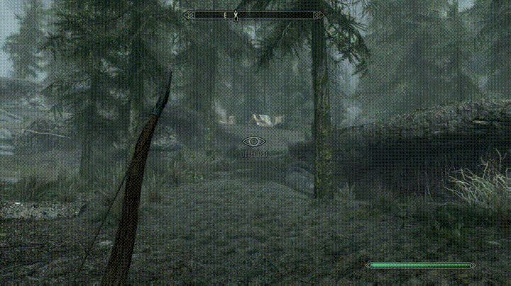 I see your wife's day 2 shot and raise you this seasoned Skyrim vet shot from yesterday... http://ift.tt/2gQHfvE