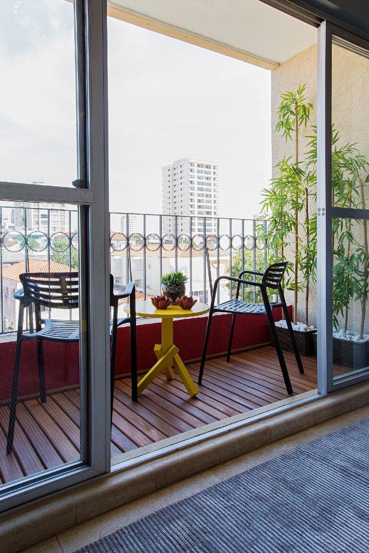 25+ melhores ideias de Varandas pequenas no Pinterest Ideias para varandas, Jardim para  -> Ideias Para Decorar Quitinetes Pequenas