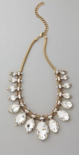 ..: Beamon Bette, Beamon Necklaces, Jewelry Necklaces, Statement Necklaces, Bette Eye, Erickson Beamon, Eye Necklaces, Bette Davis, Chunky Necklaces