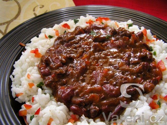 Recept na tradiční texaský pokrm na mexický způsob.