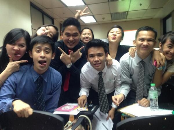 got them newfound friends/workmates/classmates