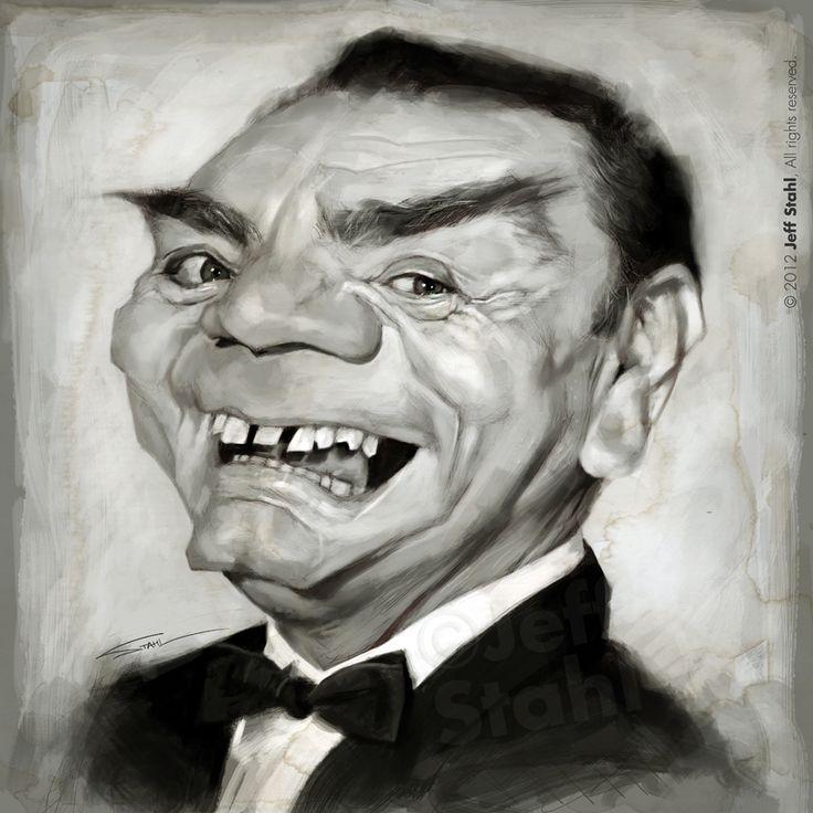 Ernest Borgnine (RIP), by Jeff Stahl by JeffStahl.deviantart.com on @deviantART