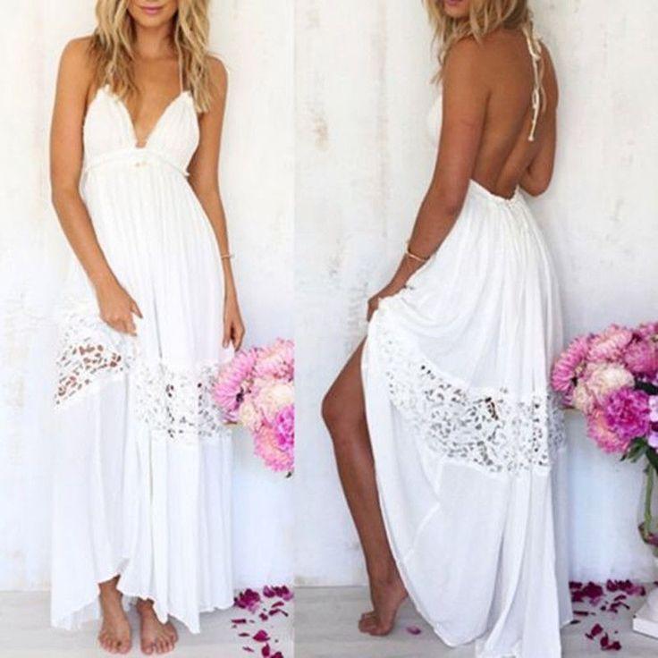 1000  ideas about White Beach Dresses on Pinterest - Beach dresses ...