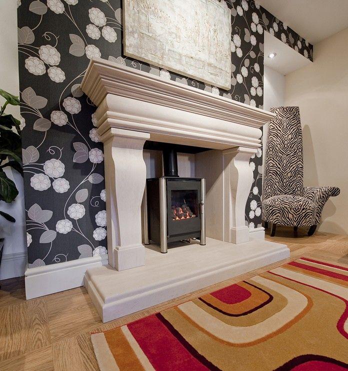 Gentel limestone | Limestone fireplaces | Fireplace Warehouse