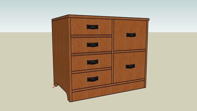 Craftsman Filing Cabinet - 3D Warehouse