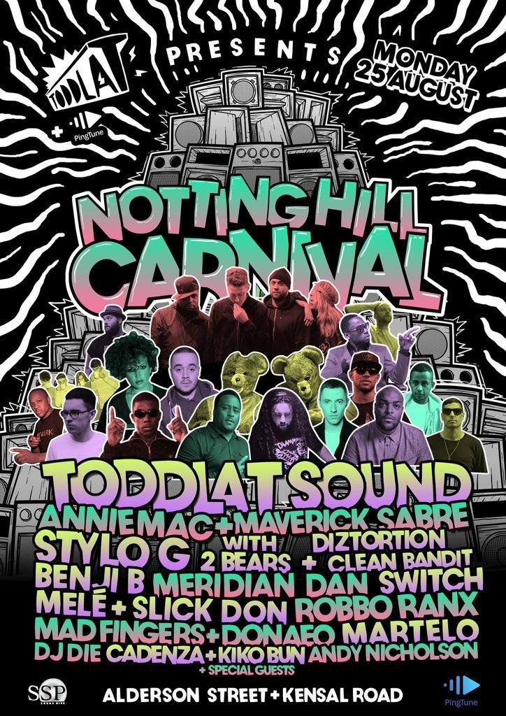 King SSP Sound System at Notting Hill Carnival
