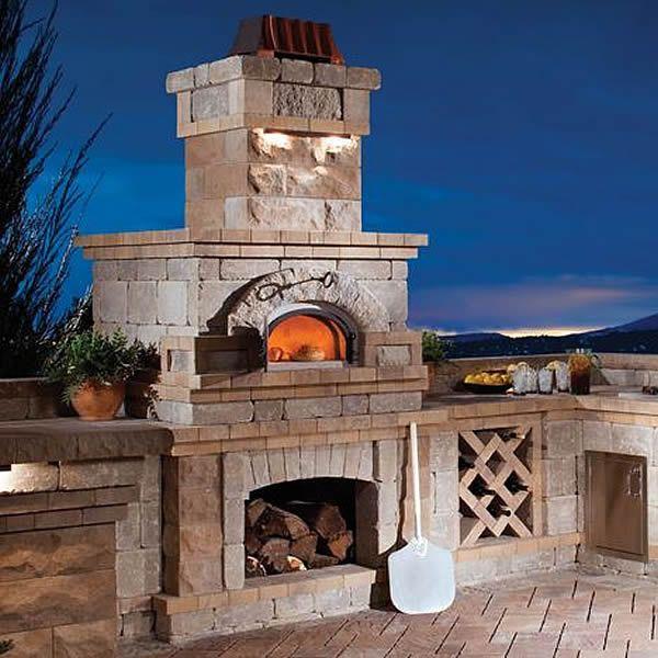 Outdoor Pizza Oven | WoodlandDirect.com