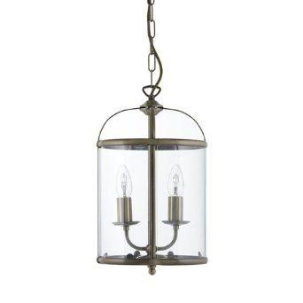 Ex John Lewis Walker 2 Light Lantern, Antique Brass: Amazon.co.uk: Lighting