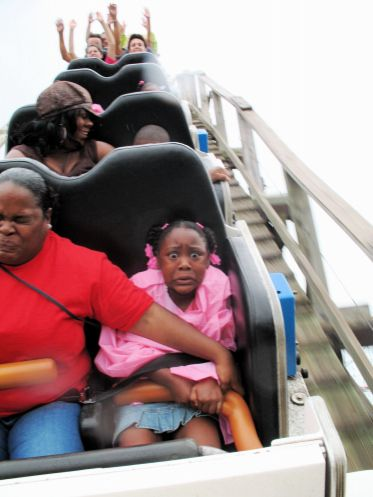 pure terror.Little Girls, Laugh, The Face, Rollers Coasters, Roller Coasters, Funny Stuff, Humor, Things, So Funny