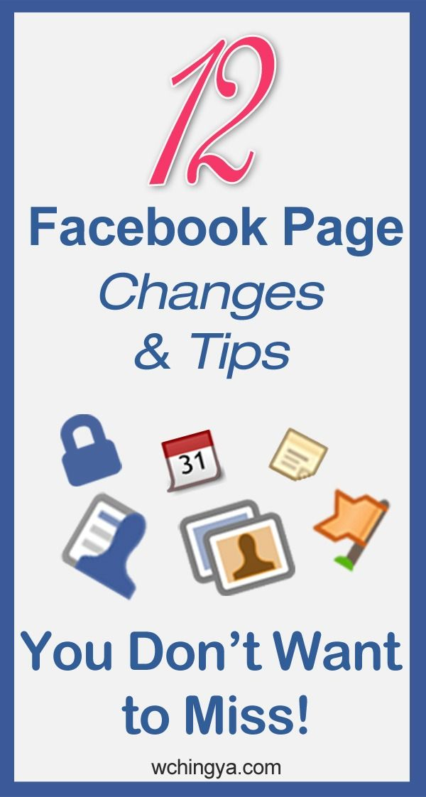12 #Facebook Page Features You Might Have Missed!  www.facebook.com/visualclarity