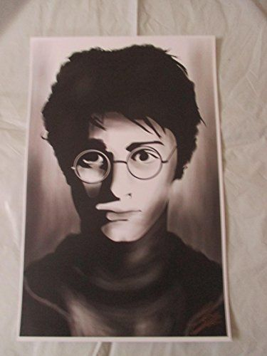 HARRY POTTER 11 By 17 Limited Edition Print Signed By Chris Huffman W/coa @ niftywarehouse.com #NiftyWarehouse #HarryPotter #Wizards #Books #Movies #Sorcerer #Wizard