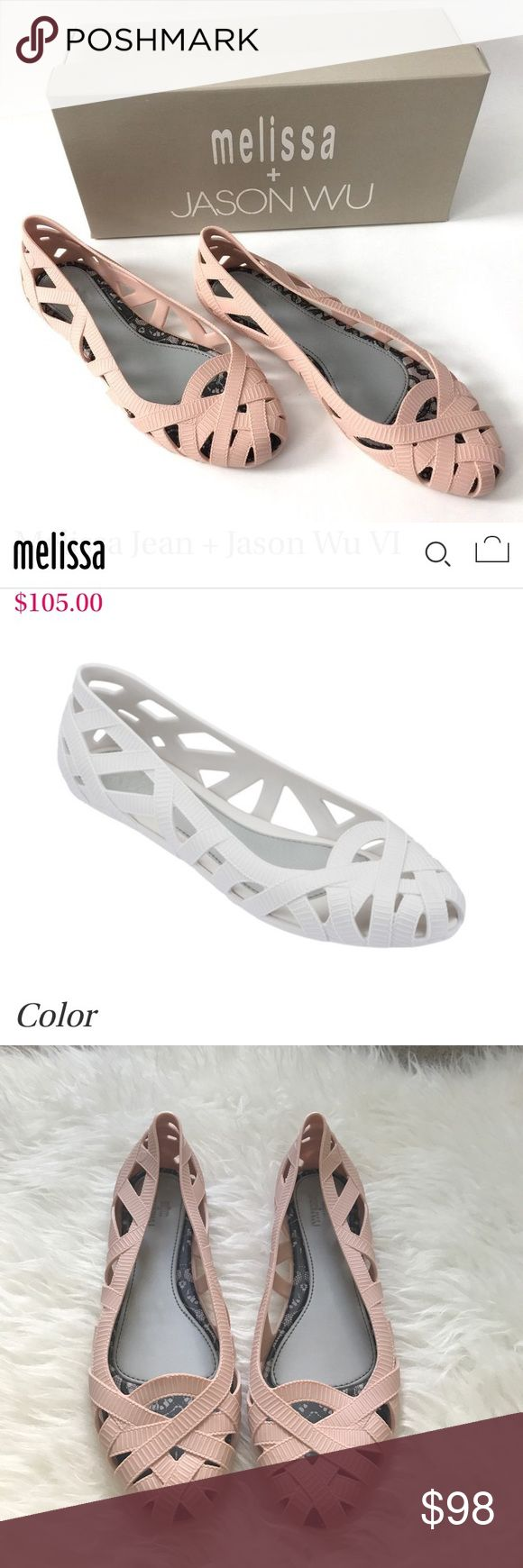 Melissa Jelly Flats Size 10 Excellent Condition  No box  No trade  No model  First two pictures I get from google Melissa Shoes Sandals