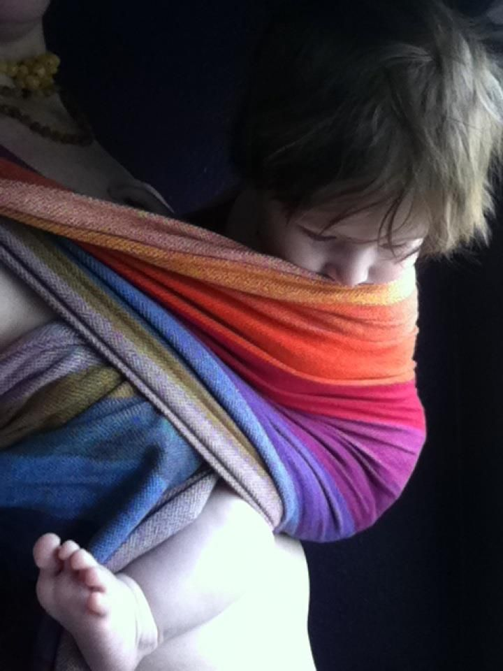 Just Ordered This Earthy Rainbow Girasol Ring Sling Http Paxbaby