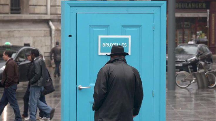 Стартираха творческа рекламна кампания в Париж, която насърчава парижани да пътуват и да проучват не толкова далечните европейски градове.  Четете още на: http://spisanievip.com/evropa-na-edna-vrata-razstoqnie/