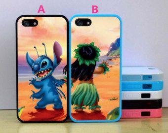 Disney Stitch and Lilo Best Friends Cases,iPhone 5s case,iphone 5c case,iphone 4S/4 hard case,Samsung Galaxy S3/S4/S5/ Rubber case