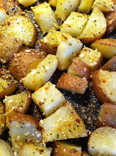 Zesty Italian Potatoes  KH; if this is the only potatoes I have for the rest of my life, I'm totally okay with it!!