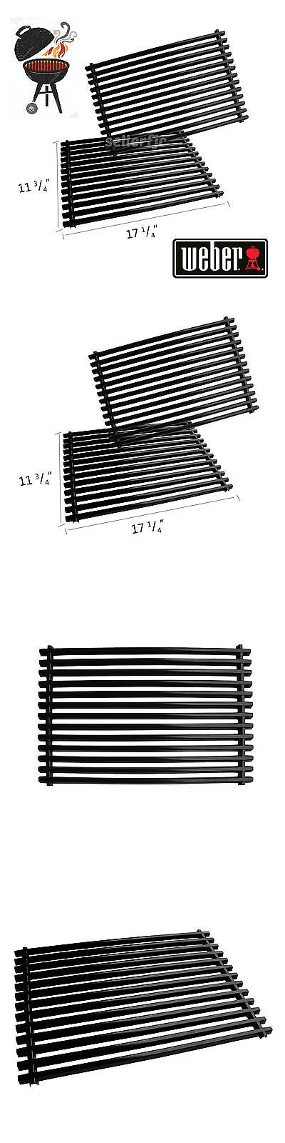 BBQ and Grill Replacement Parts 177018: For Weber 7525 Set Of 2 Cooking Grates Spirit Genesis Heavy Duty Bbq Porcelain -> BUY IT NOW ONLY: $54.6 on eBay!
