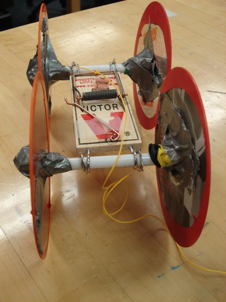 Mousetrap car project writeup