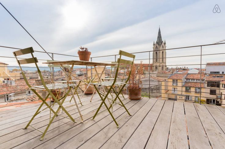 Check out this awesome listing on Airbnb: Urban loft with terrace downtown - Apartments for Rent in Aix-en-Provence
