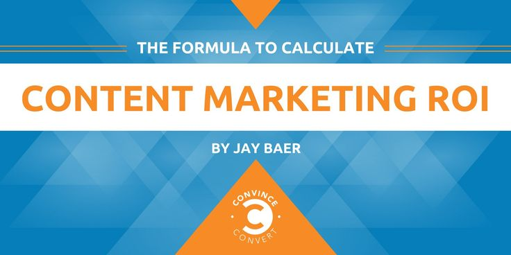 The Formula to Calculate Content Marketing ROI