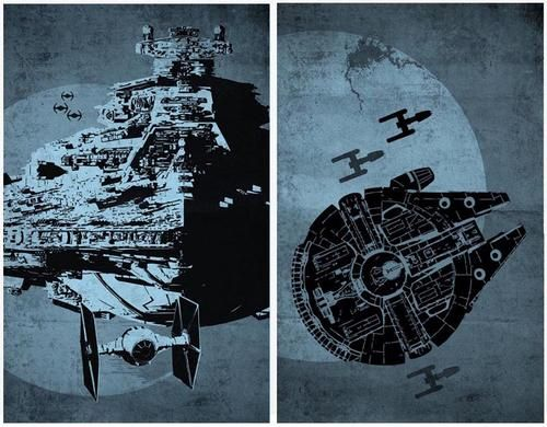 Star Wars by Sana SiniFighter Posters, Posters Sets, Picture-Black Posters, Beautiful Stars, Star Wars, Stars Wars, Posters Vintage, Wars Fans, Style Posters