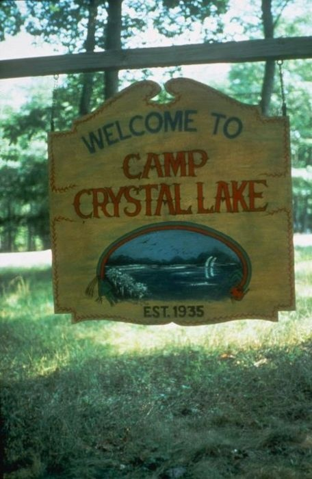 "Camp Crystal Lake on Friday the 13th - The same Crystal Lake from the book ""Her Wiccan, Wiccan Ways"" ?"