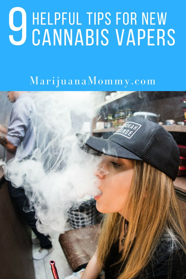 9 Tips for First Time Cannabis Vapers Here's everything you need to know before you start vaping cannabis.  Everything from obtaining cannabis to planning your first session.   https://www.marijuanamommy.com/9-tips-for-first-time-cannabis-vapers/