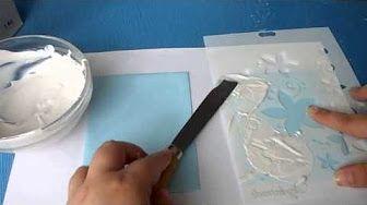 Tutorial: cómo elaborar la pasta de textura casera - YouTube
