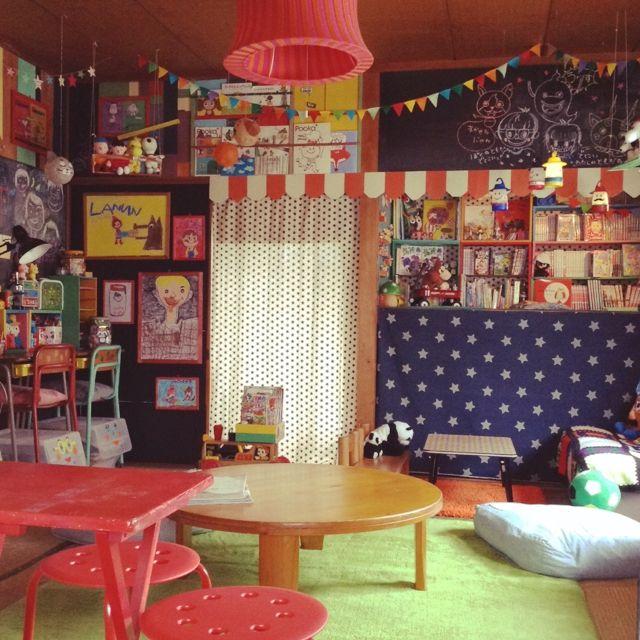 IKEA/押入れ改造/子供と暮らす。/スヌーピー/ドール/子供の絵…などのインテリア実例 - 2015-09-30 09:49:48 | RoomClip(ルームクリップ)