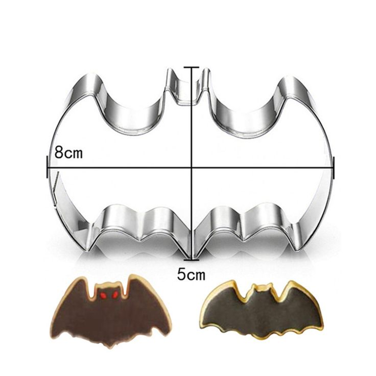 Aliexpress.com : Buy 1Pc Stainless Steel 3D Batman Cookie Cutter Batman Film Theme Mousse Ring Biscuit Embossing Mould Cake Mold Baking Pastry tool from Reliable pastry tools suppliers on Azerin Boutique Store