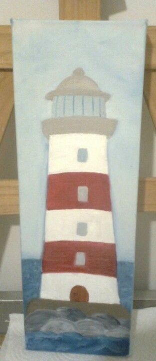 Lighthouse Tower Painting