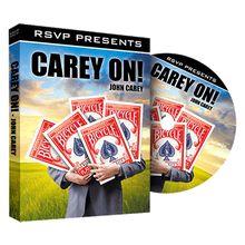 Carey On by John Carey and RSVP Magic - DVD
